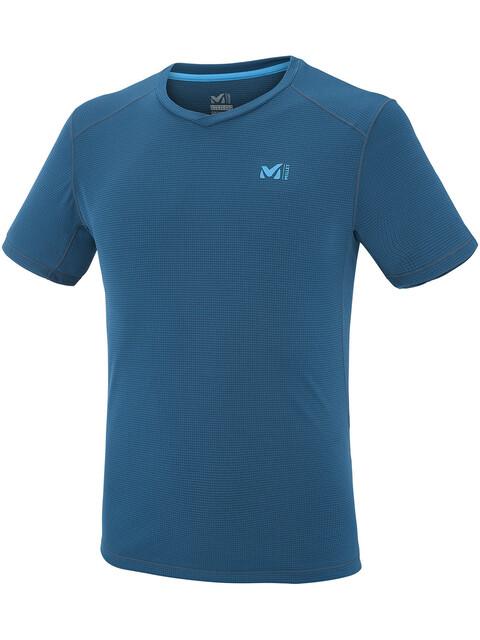 Millet Roc Base - T-shirt manches courtes Homme - bleu